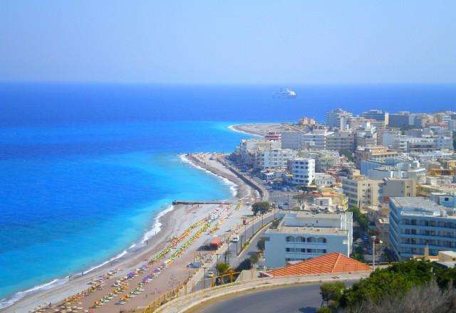 Grčija, Otok Rodos - Faliraki Bay 3*