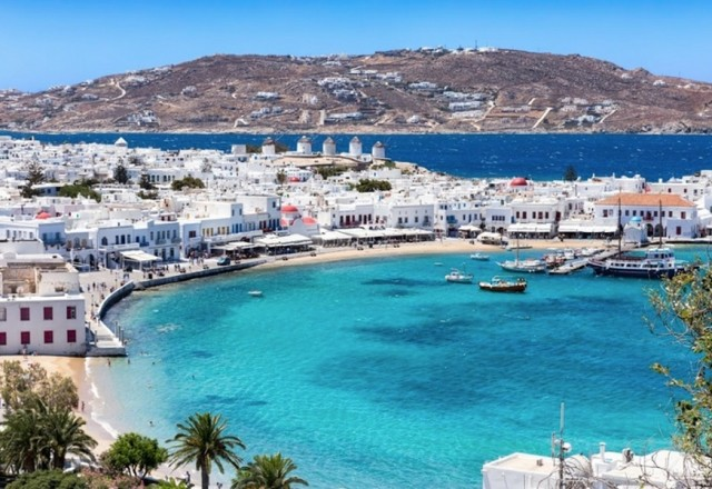 Grčija - otok Mikonos