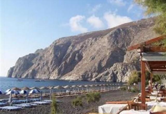 Grčija - Santorini, hotel Kamari Blu 3*