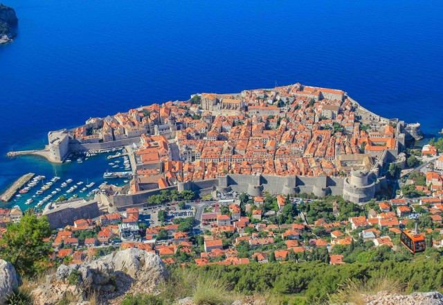Dubrovnik z letalom